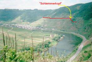 Klettersteig Cochem : Klettersteig calmont mapio