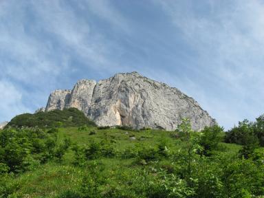 Klettersteig Hochthron : Klettersteig hochthron berchtesgaden