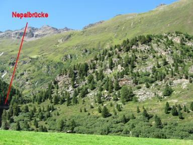 Klettersteig Obergurgl : Obergurgler klettersteig