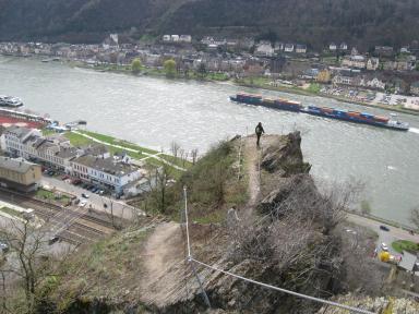 Klettersteig Nochern : Rabenacksteig klettersteig