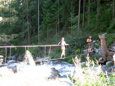 Klettersteig Stuibenfall : Klettersteig stuibenfall im Ötztal